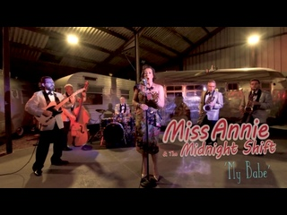 My Babe MISS ANNIE  THE MIDNIGHT SHIFT (Vintage American Imports) BOPFLIX sessions
