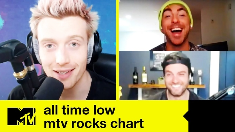 All Time Low's Alex Rian Talk New Single 'Once In a Lifetime' New Music MTV Rocks Chart