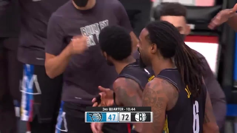 Nets were disappointed with Kyries dunk attempt