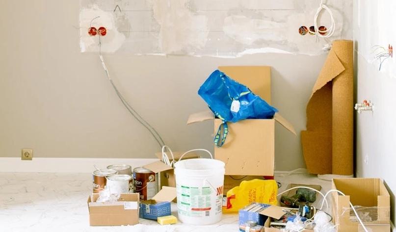 Как жить в квартире и делать ремонт?