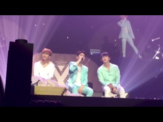 [VK][170730] MONSTA X Fancam - 'I`ll Be There' @ 'THE 1ST WORLD TOUR' Beautiful in Bangkok