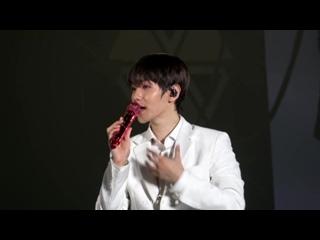 [4K] 180714 엑소 EXO ElyXiOn DOT in Seoul - White Suit Ment - Baekhyun 백현 Focus 직캠