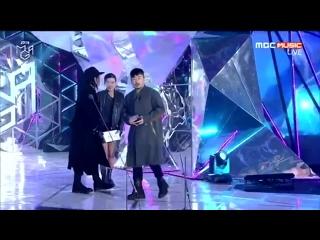 061118 Genie Music Awards Son Sungdeuk wins Best Choreographer with BTS
