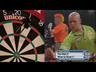 Peter Wright vs Michael van Gerwen (European Darts Grand Prix 2017 / Final)