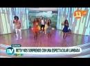 Fluxo Brasil bailando Lambada con Betsy Camino en Bienvenidos