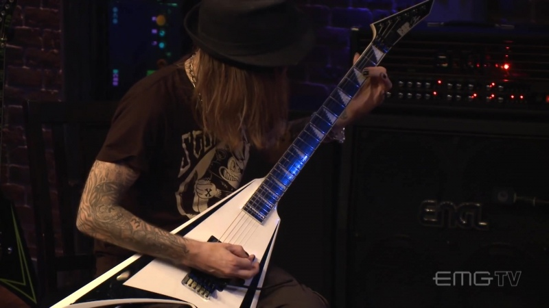 Alexi Laiho plays Pussyfoot Miss Suicide on EMGtv Full HD