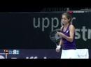 Linz 2016.Barbara Haas vs. Julia Goerges.1 Round