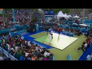 Юношеские олимпийские игры. брейк-данс. Россия - Франция. Болеем за наших. Сергей Чернышев (B-boy Bumblebee)