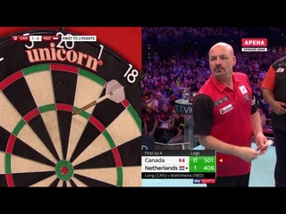 Canada vs Netherlands (PDC World Cup of Darts 2019 / Quarter Final)