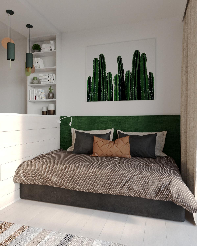 Проект квартиры-студии 28,3 кв.
