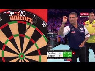 Scotland vs Belgium (PDC World Cup of Darts 2019 / Quarter Final)