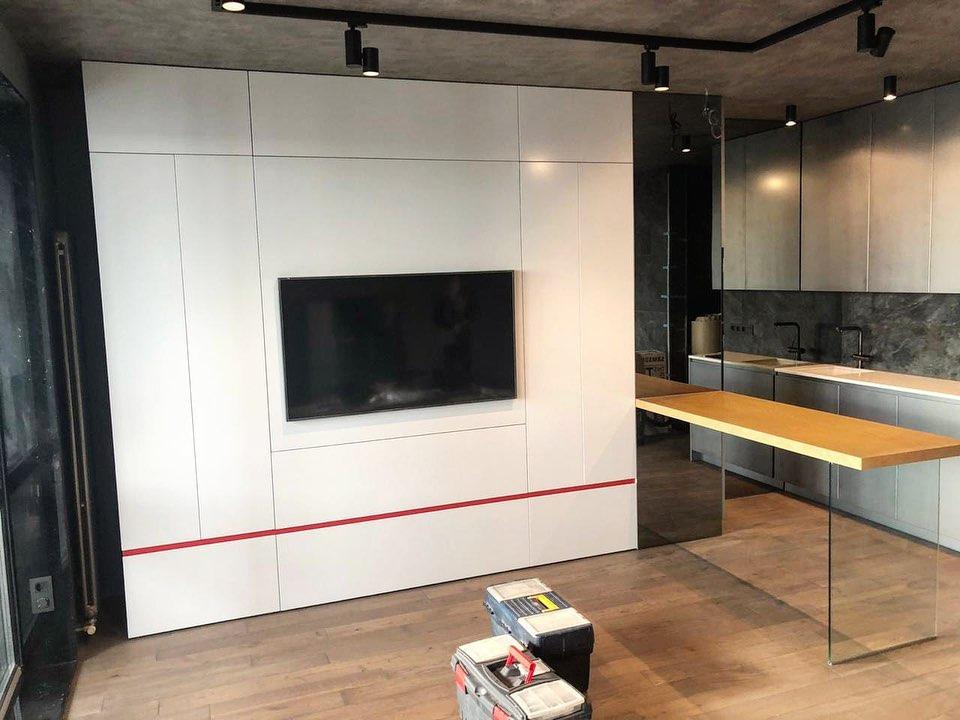 Проект квартиры-студии 50 м (в т.