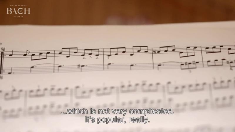 807b J S Bach English Suite No 2 in A minor BWV 807 Bertrand Cuiller harpsichord AoB