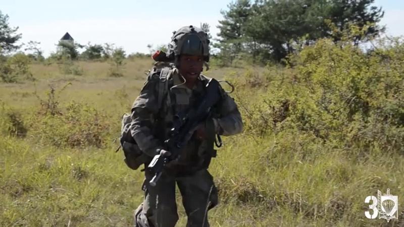 Ротация морпехов 3e RPIMa на учебно-боевой операции CENTAC