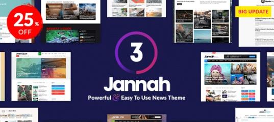 Jannah v3.2.0 – A News & Magazine AMP BuddyPress Theme