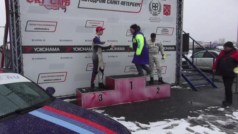 SPb Cup Ice 2020 race4 podium