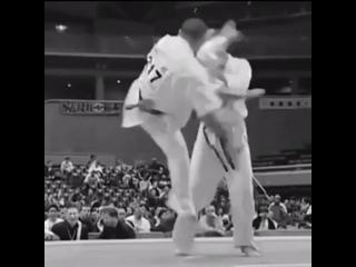 Отличная стремительная вертуха в голову - Тоби Усиро Маваси гери в подготовке бойца Кёкусинкай карате