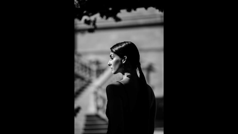 Emillia DellOro goes blackwhite