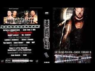 มวยปล้ำพากย์ไทย WWE No Way Out 2007 Part 3 ครับ พี่น้อง เครดิตไฟล์ กลุ่มมวยปล้ำพากย์ไทย