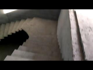 Лестница на смещенном косоуре