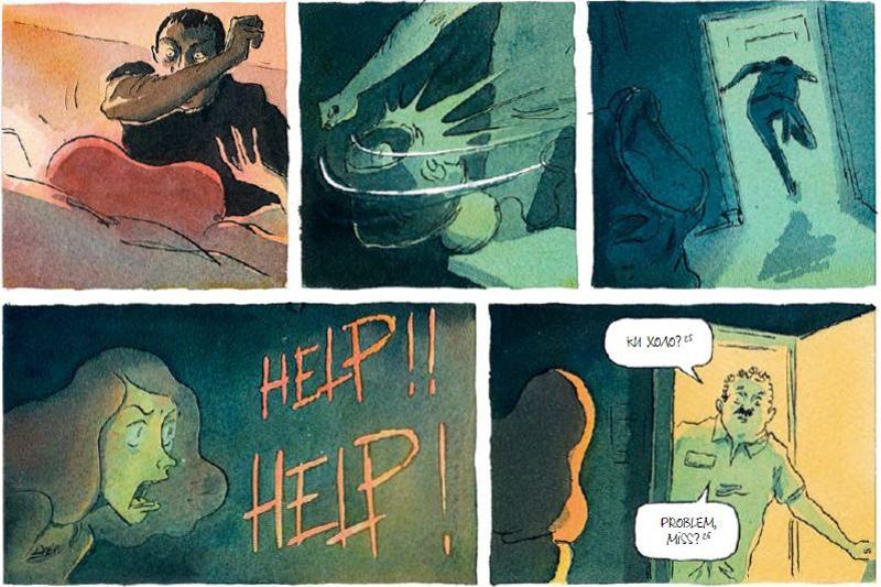 «Красная карма», Эдди Симон, Пьер-Анои Гомон. Рецензия, изображение №5
