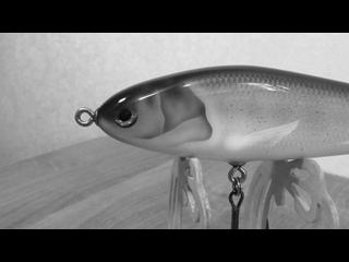 Video by Lures - maker Grechnev. Джеркбейты ручной работы