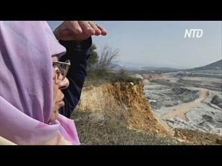 64-летняя жительница Турции защищает деревню от разрастающегося угольного карьера