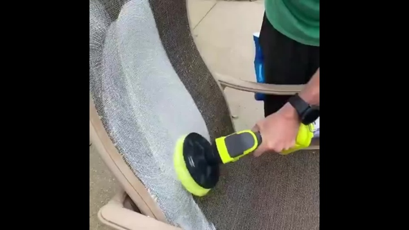 Адаптеры на шуруповерт для чистки самых разных поверхностей
