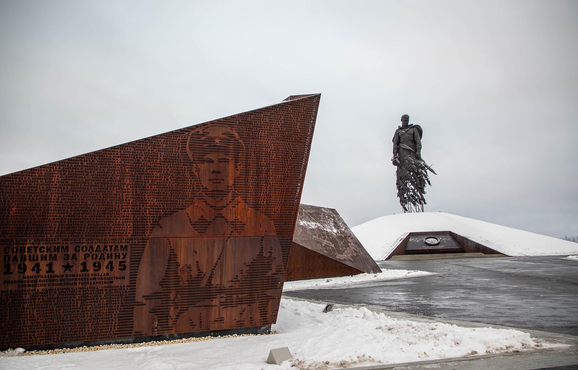 В новогодние праздники Ржевский мемориал стал одним из самых посещаемых мест в Тверской области