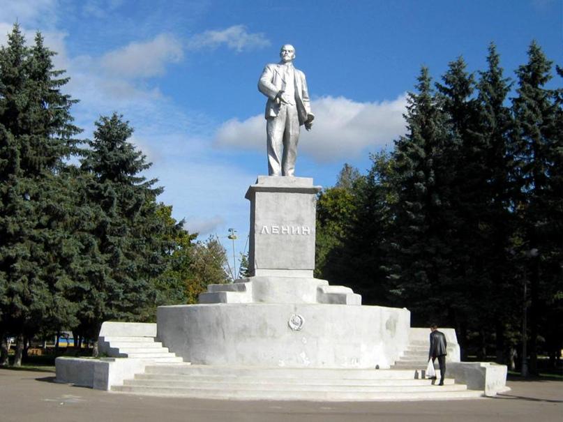 В Ржеве граждане активно отстояли памятник В.И. Ленину 👍🏻