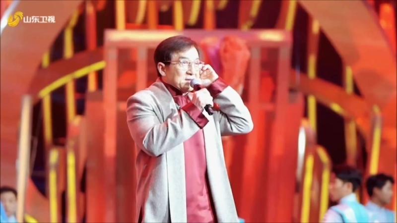 Съёмки новогоднего концерта на Шаньдунском ТВ
