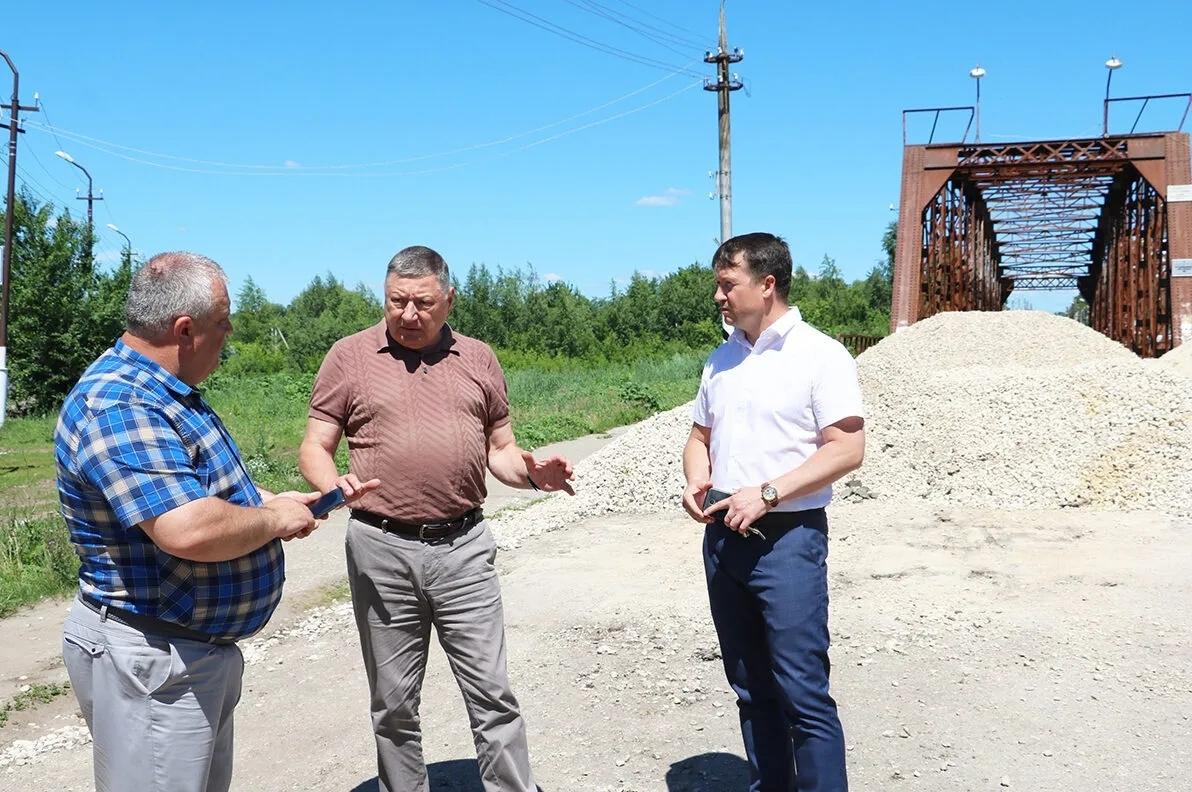 Председатель областной Думы Александр Романов посетил Петровск с рабочим визитом
