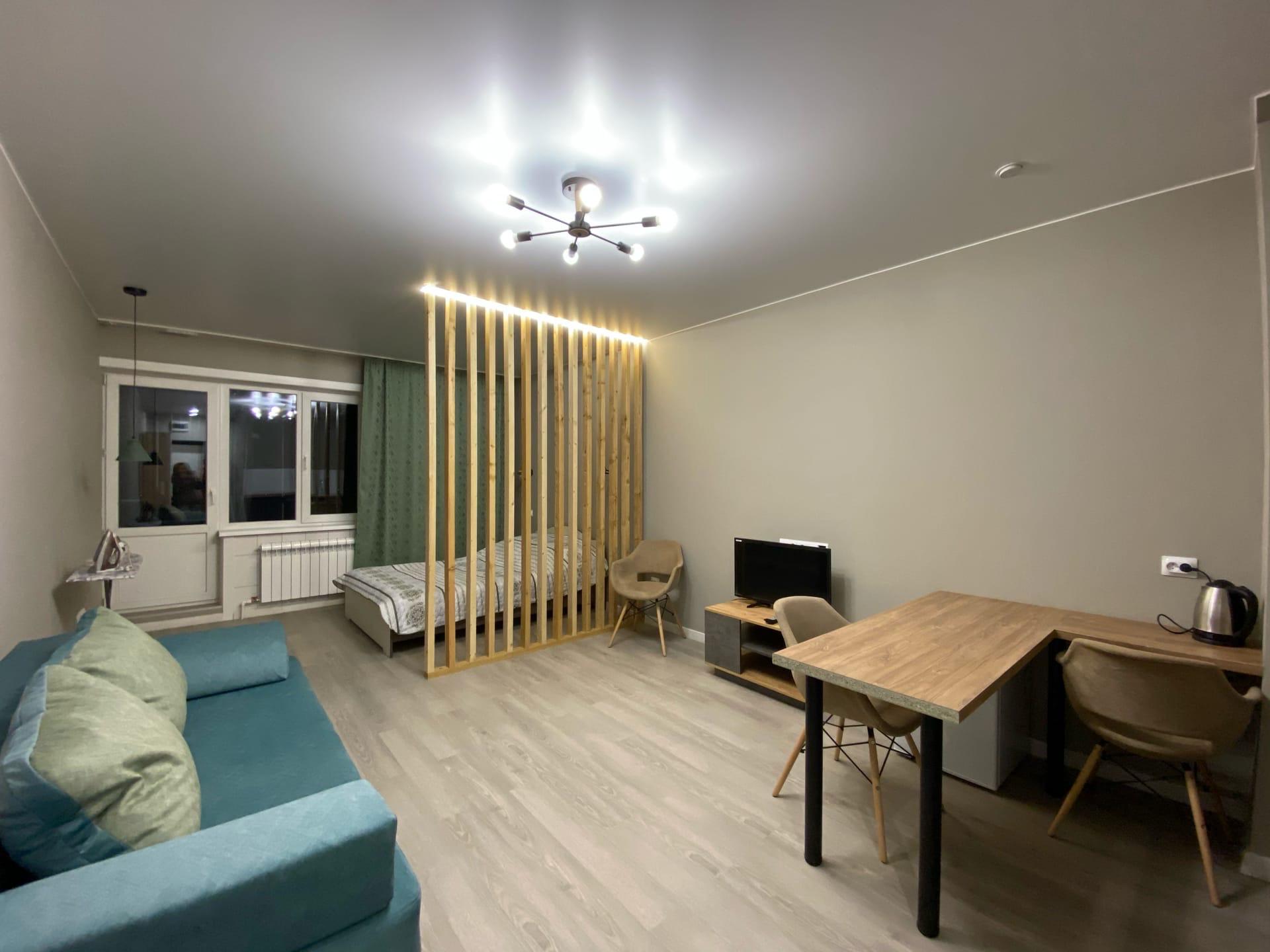 Закончили ремонт квартиры 34,5 кв.