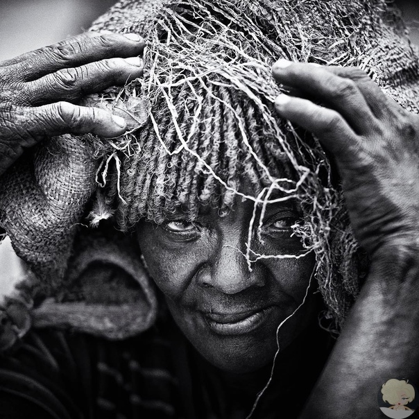 Люди африканского племени водаабе