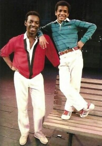 Альфонсо Рибейро и Хинтон Баттл в мьюзикле The Tap Dance Kid.