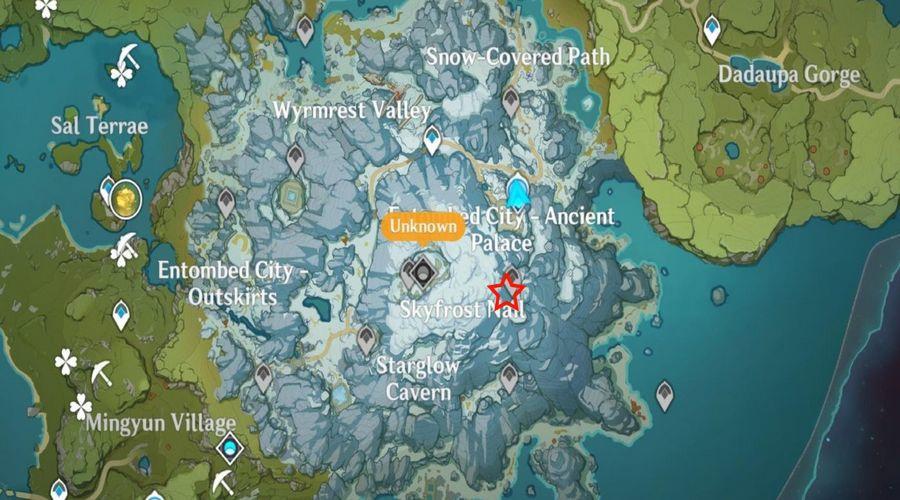 Секретная дверь местонахождение на карте