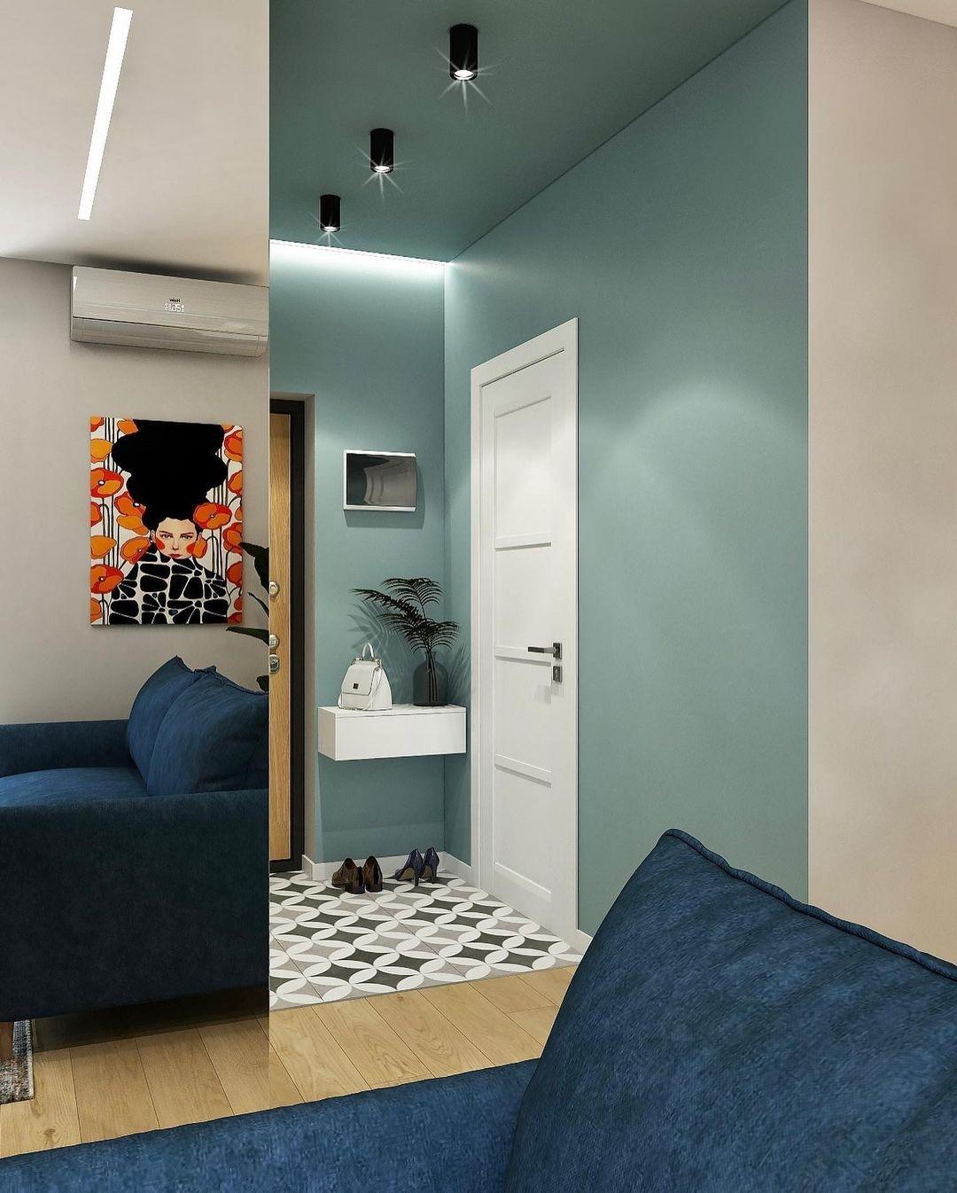Концепт квартиры-студии почти 39 кв.
