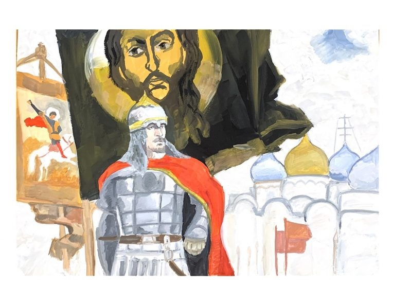 Якутская епархия подвела итоги конкурса «Александр Невский: воин, князь, святой», изображение №10