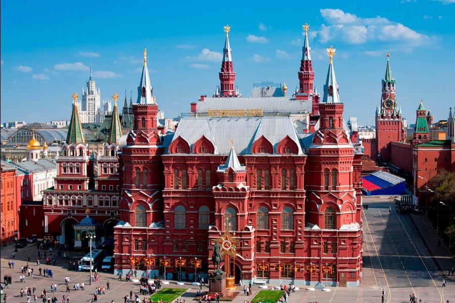 МОСКВА: Автобусные туры