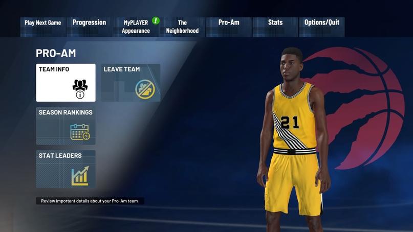 Как добавить друга в команду Pro-Am в NBA 2K21, изображение №8