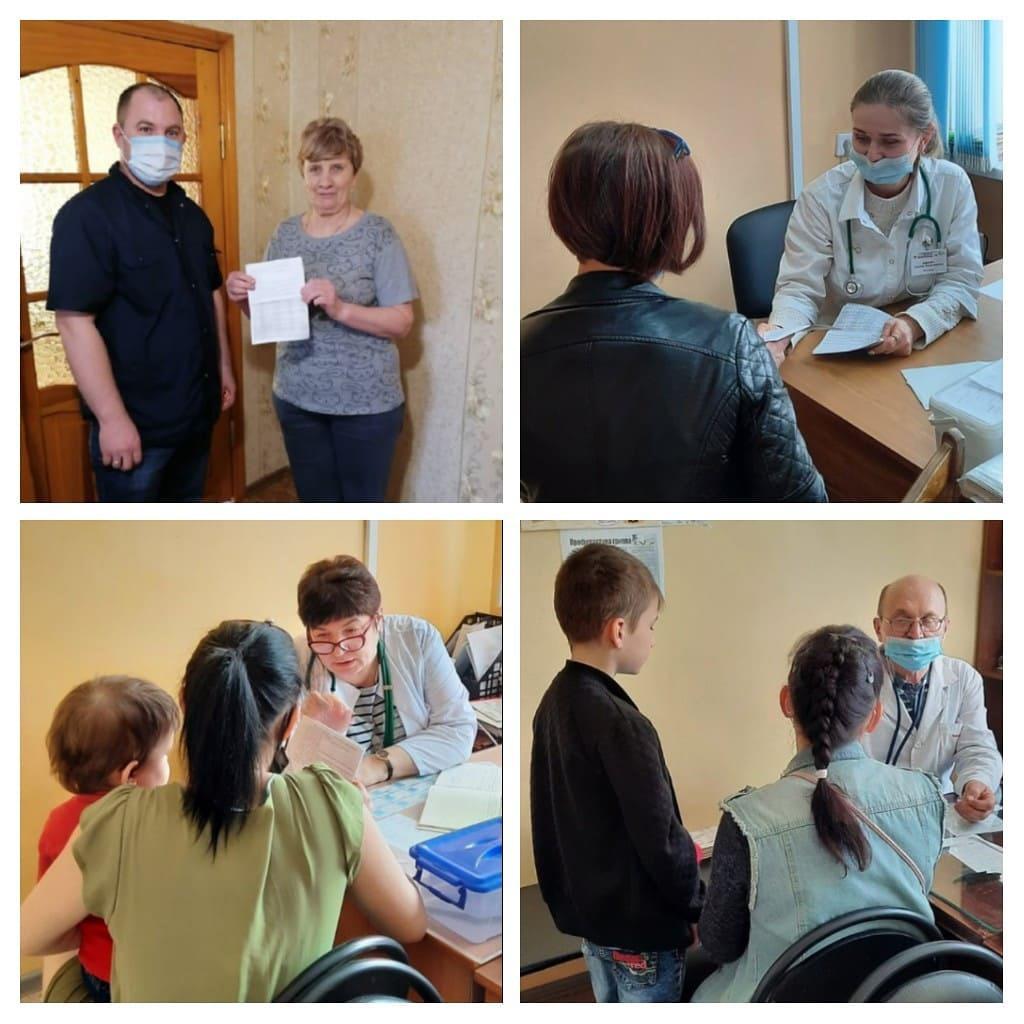 Медики Петровска информируют горожан о проведении вакцинации против COVID-19