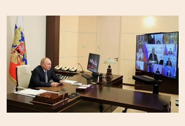 ПУТИН ОБЪЯВИЛ О НЕРАБОЧИХ ДНЯХ:Президент Владимир ...