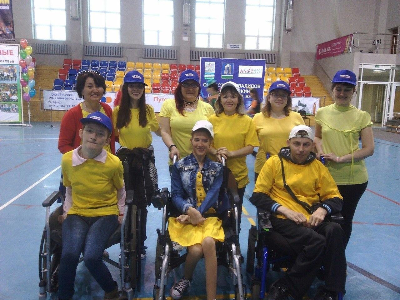 В Октябрьском пройдут гонки на инвалидных колясках