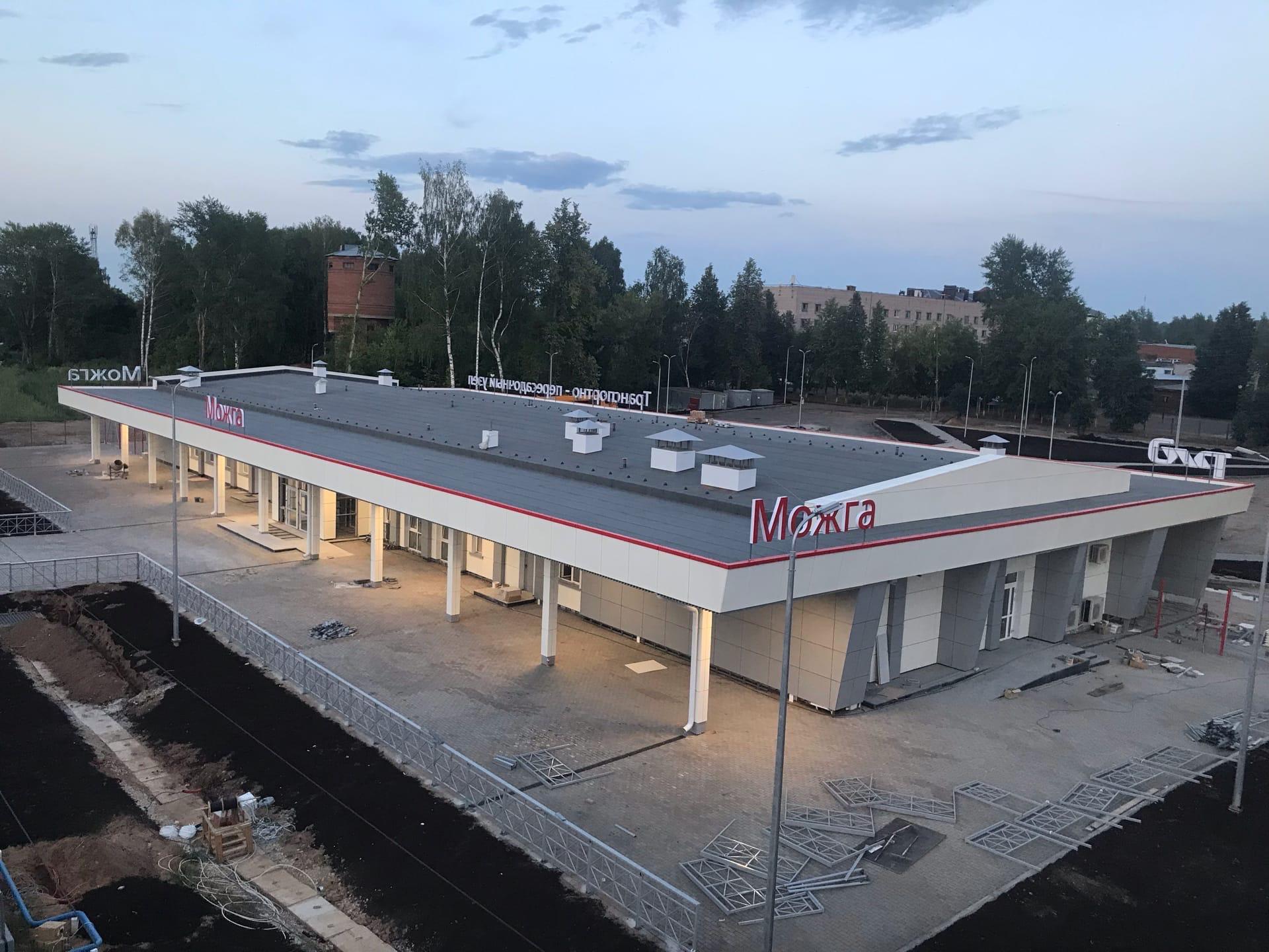 Новое здание вокзала планируют сдать в эксплуатацию