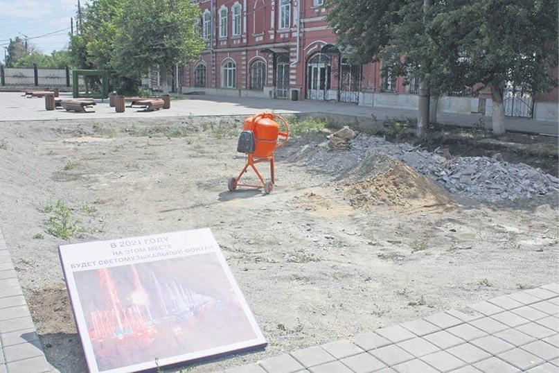 Мэрия ответила, когда появится новый фонтан перед ЧелГу 👇🏻
