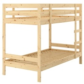 Каркас 2-ярусной кровати, сосна, 90x200 см