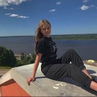 Фотография страницы Евгении Бирюковой ВКонтакте
