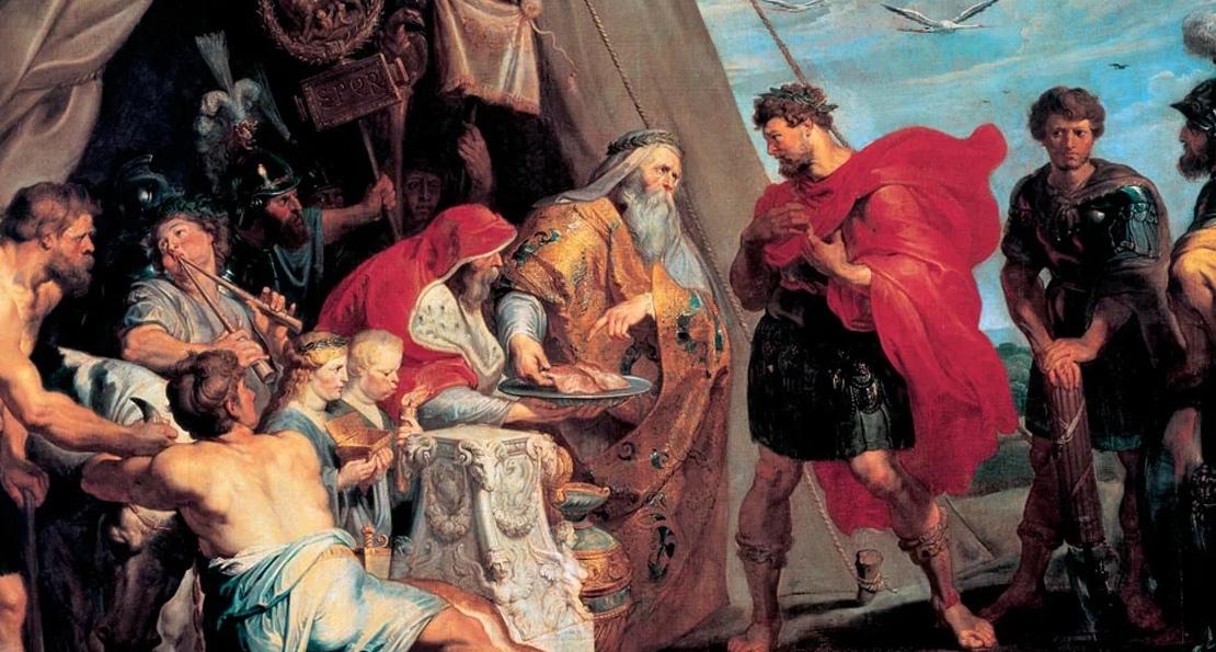 Константин перед битвой