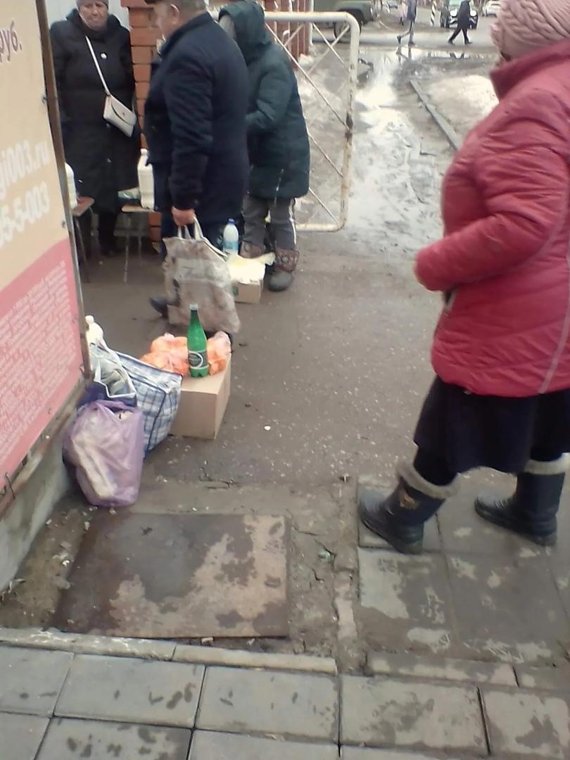 В Петровске состоялся рейд по выявлению фактов несанкционированной торговли