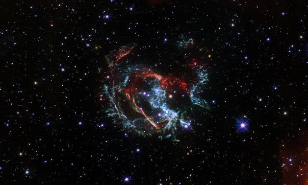 «Хаббл» запечатлел последствия взрыва сверхновой, который наши предки могли наблюдать почти две тысячи лет назад